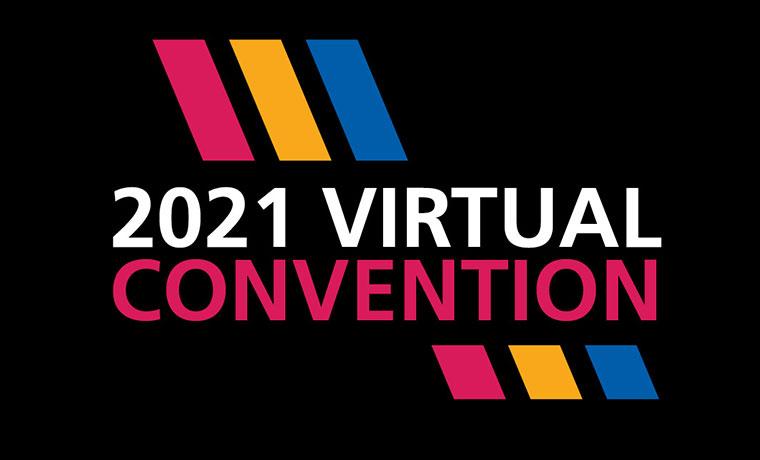 Rotary Virtual Convention logo