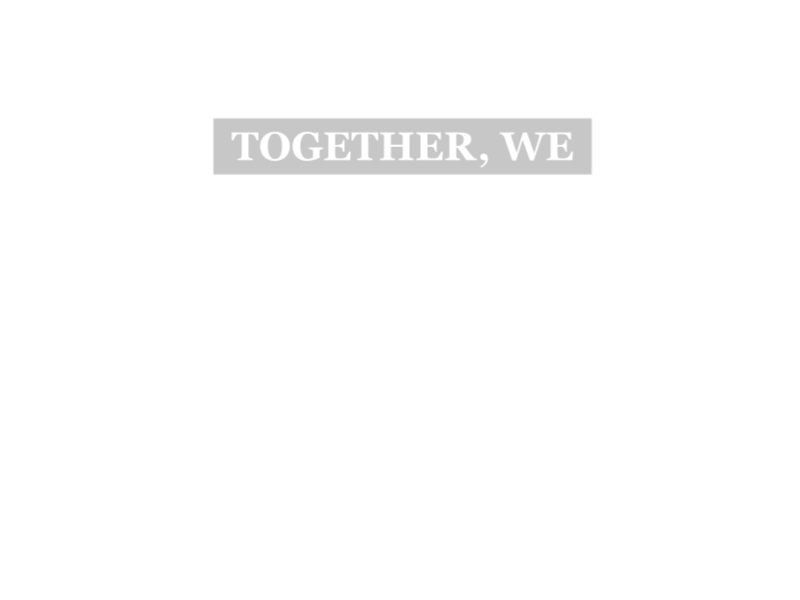 Together We Connect overlay