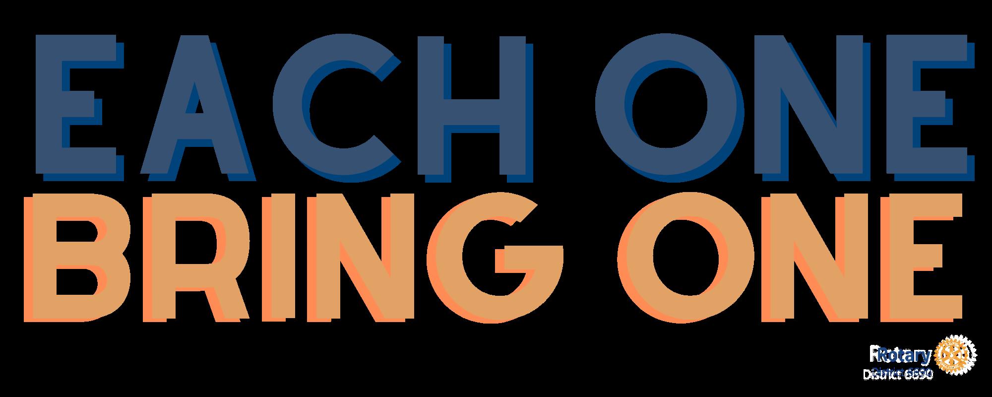 Each One Bring One logo