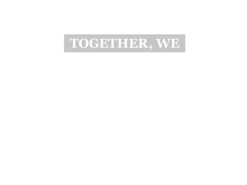 Together We Inspire overlay