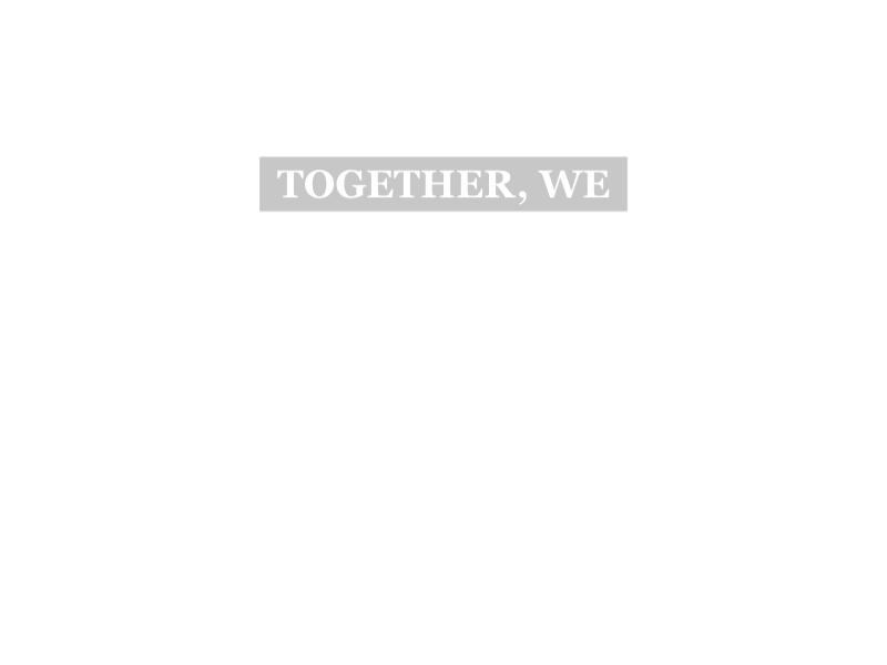 Together We Save Lives
